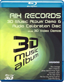 AIX 3D音乐测试碟 3D 88-051