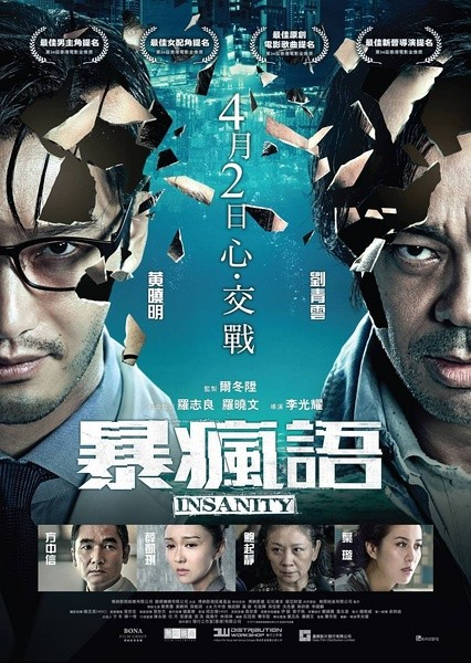 暴疯语(2015) 刘青云、黄晓明主演香港惊悚片 26-078