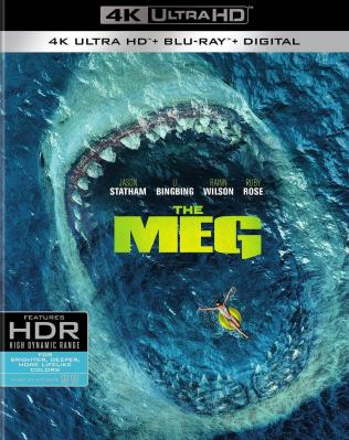 4K-UHD 巨齿鲨/极悍巨鲨/麦格 (2018 杰森·斯坦森、李冰冰)