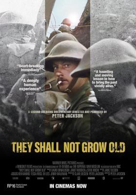 他们已不再变老/他们不会变老 2018战争纪录片 豆瓣评分高达9.1分!)