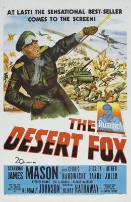 沙漠之狐 关于沙漠之狐隆美尔的传记电影(1952)