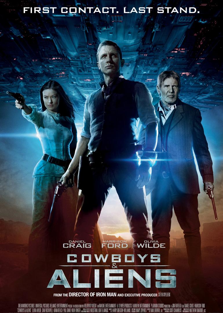 牛仔与外星人 2011 评分: 8.0