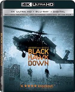4K UHD 黑鹰坠落/黑鹰计划 全景声 2001 评分8.4 剧场版+加长版 不兼容XBOX