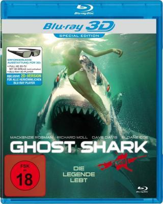 鬼鲨 2D+3D 2013惨遭杀害的鲨鱼受到诅咒,化作鬼鲨向小镇居民展开复仇行动