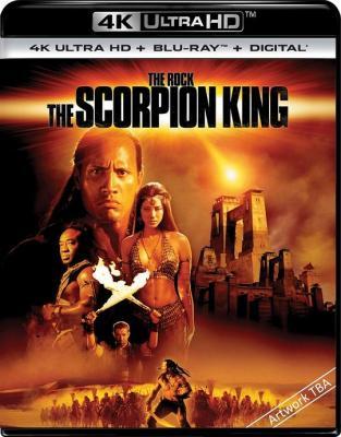 4K UHD 蝎子王1/魔蝎大帝 THE SCORPION KING 豆瓣6.5 (2002)