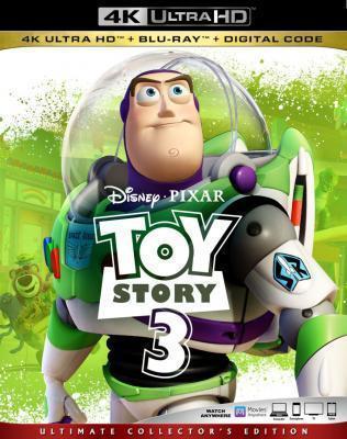 4K UHD 玩具总动员3/反斗奇兵3/玩具的故事3 全景声 2010 评分8.8