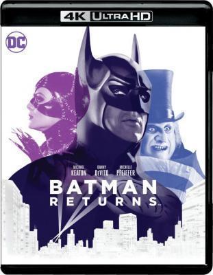4K UHD 蝙蝠侠2:蝙蝠侠归来 全景声 1992 评分7.2
