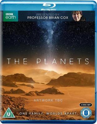 行星 豆瓣9.6 THE PLANETS (2019) 2碟 BBC 2019年巨制