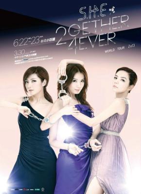 BD50 SHE/2GETHER 4EVER演唱会影音馆2014