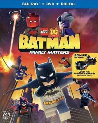 乐高DC蝙蝠侠:家族事务 2019 评分7.5