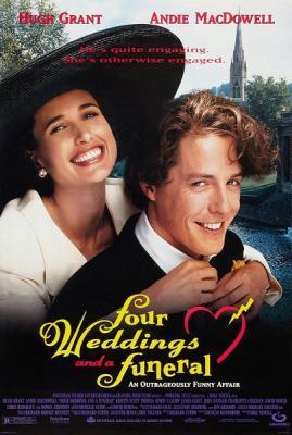 四个婚礼与一个葬礼 1994 豆瓣7.4(25周年纪念4K修复版)(第二版)