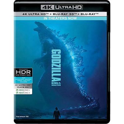 4K-UHD 哥斯拉2:怪兽之王/哥吉拉II:怪兽之王/GODZILLA: KING OF THE MONSTERS (2019)豆瓣评分6.4