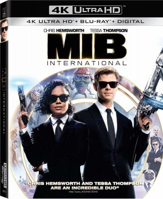 4K-UHD 黑衣人4:全球追缉/黑超特警组:反转世界/MIB星际战警:跨国行动  (2019)