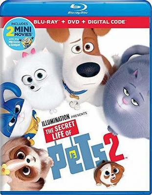 BD50-2D 爱宠大机密2 杜比全景声 (原班人馬2度冒險!) THE SECRET LIFE OF PETS 2 (2019) 豆瓣评分 7.1