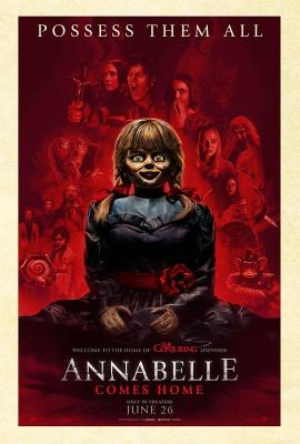 安娜贝尔3:回家 2019 评分5.8