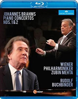 鲁道夫.布赫宾德祖宾.梅塔 勃拉姆斯钢琴协奏曲 BRAHMS: PIANO CONCERTOS NOS. 1 & 2