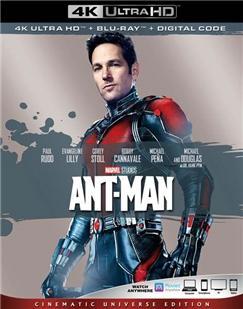 4K-UHD 蚁人1/蚁侠 ANT-MAN (2015) 豆瓣评分7.7 漫威系列