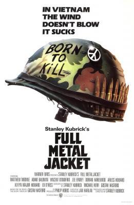 BD50-2D 全金属外壳 十佳战争片:重温经典 FULL METAL JACKET (1987)豆瓣评分8.5