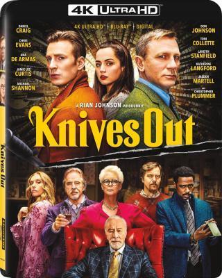 4K-UHD 利刃出鞘/出鞘/锋回路转 KNIVES OUT (2019) 豆瓣8.2 全景声