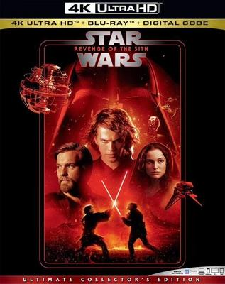 4K-UHD 星球大战前传3:西斯的复仇 STAR WARS: EPISODE III REVENGE OF THE SITH (2005) 豆瓣8.3