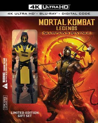 4K-UHD 真人快打传奇:蝎子的复仇/MORTAL KOMBAT LEGENDS:SCORPIONS REVENGE (2020动画片) 豆瓣7.3