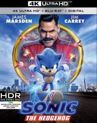 4K-UHD 刺猬索尼克/超音鼠大电影/音速小子 SONIC THE HEDGEHOG (2020) 豆瓣6.1